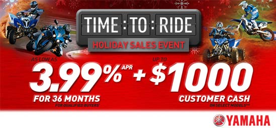 2012 Time To Ride Yamaha